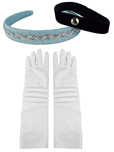 Cinderella Headband, Choker & Gloves Set (Cinderella Costume)