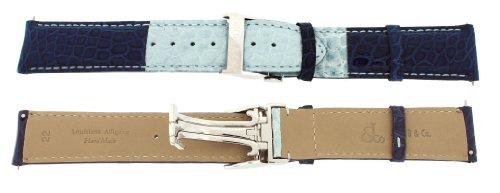 jacob-co-genuine-real-alligator-dark-light-blue-band-22mm-for-47mm-watch