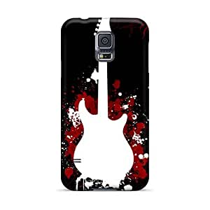 Shock-Absorbing Cell-phone Hard Cover For Samsung Galaxy S5 (eZg14859stWz) Support Personal Customs Realistic Drowning Pool Band Pictures