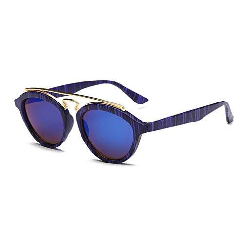 G&T European Unique Style Personality Lady Colorful Lens Wayfarer - Colorful Sunglasses Wayfarer Style