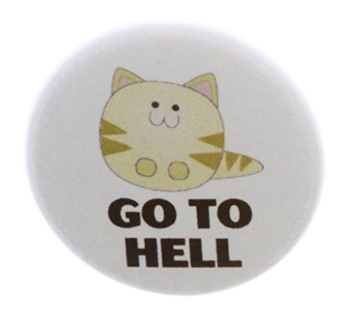 Qty Kitty - QTY 5 Go To Hell cute lil kitty 2.25