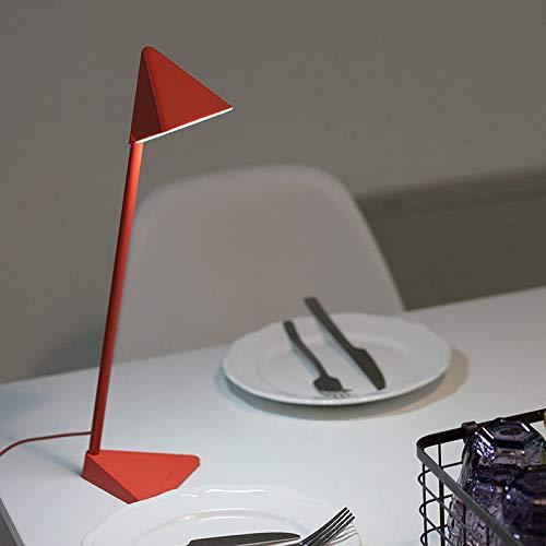 YNNB Lámpara de Mesa Triangular, USB de Carga táctil Desmontable ...