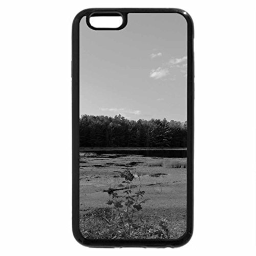 iPhone 6S Plus Case, iPhone 6 Plus Case (Black & White) - A Patch Of Grass