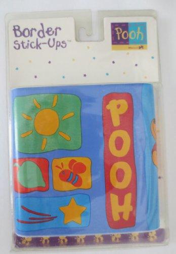 Priss Prints Winnie the Pooh Hunny Pot Border ()