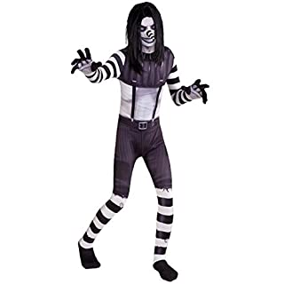 Morphsuits Laughing Jack Scary Urban Legends Halloween Kids Costume - Small (Age 6-8)
