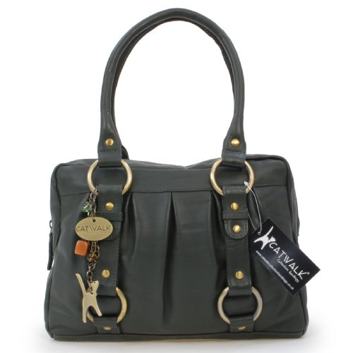 Catwalk Handbag Green Collection Leather Megan 4q6PrOx4