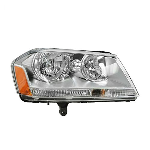 (Headlight Headlamp Passenger Side Right RH for 08-10 Dodge Avenger SXT)