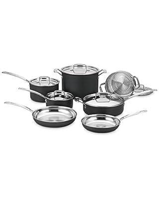 "Cuisinart ""Multiclad"" 12Pc Cookware Set"