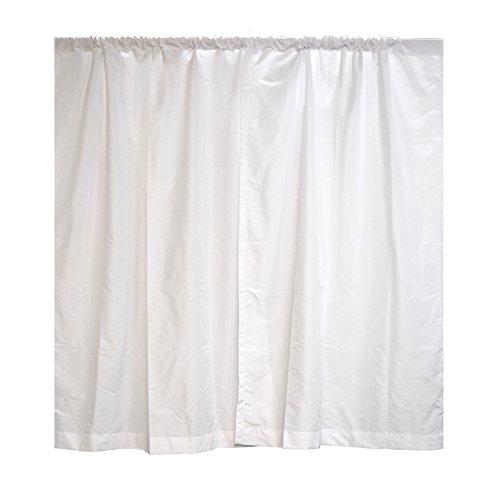 Premier Drape Panel by Crowd Control Center (94''x60'', White) by Crowd Control Center