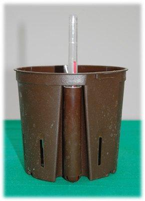 Hydrokulturtopf 13//12 Topf mit Wasserstandsanzeiger