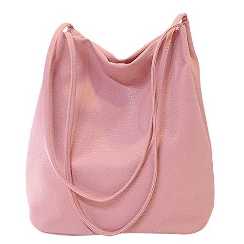 Pink Bucket Bag - Bucket Bag Womens Purse Leather Shopper Totes Hobos Shoulder Bags