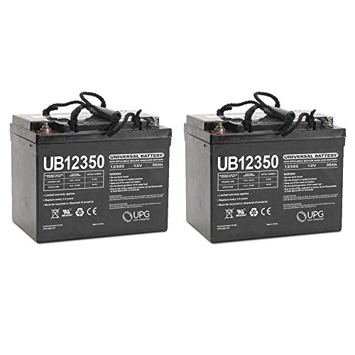 Universal Power Group UB12350 12V 35AH Internal Thread Battery for Fortress 2200 FS U1-2 Pack (Fortress Scooters)