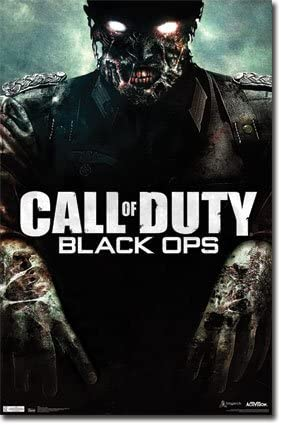 Amazon Com Call Of Duty Black Ops Zombies 22x34 Poster Game Art