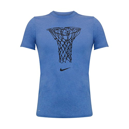 Nike Männer Nike läuft dieses Grafik T-Shirt Lt Spiel Ryl Htr