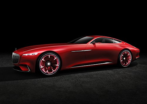 mercedes-benz-vision-maybach-6-2016-car-print-on-10-mil-archival-satin-paper-red-front-side-static-v