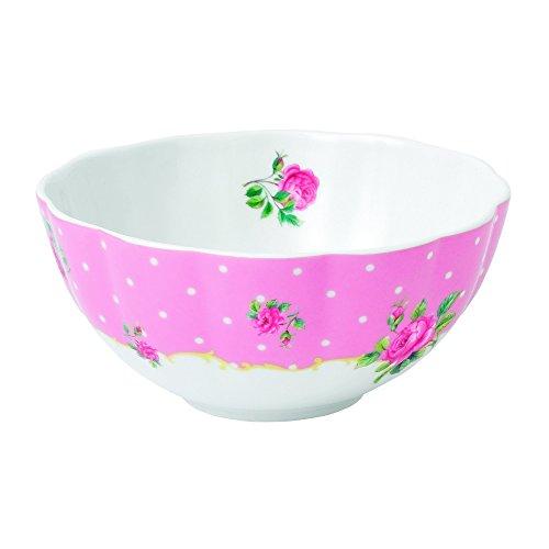 (Royal Albert New Country Roses Baking Bliss Mixing Bowl, 1-Quart, White )
