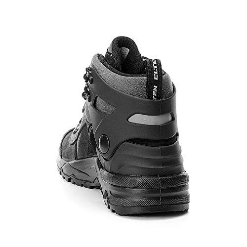 Elten 63331-39 Dino Black Sicherheitsschuhe S3, Mehrfarbig, 2061077