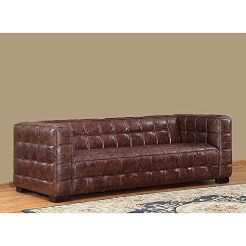 Lazzaro Leather WH-1318-30-9021 Nautical Sofa