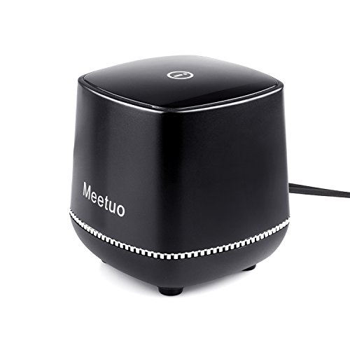 Mini Usb Stereo - Wired Speaker, Portable Travel Loudspeaker with Novel Modeling/Mini Box Stereo Powered Home Audio with USB Plug for Notebook,Laptop ,PC,Desktop Tablet (Black)