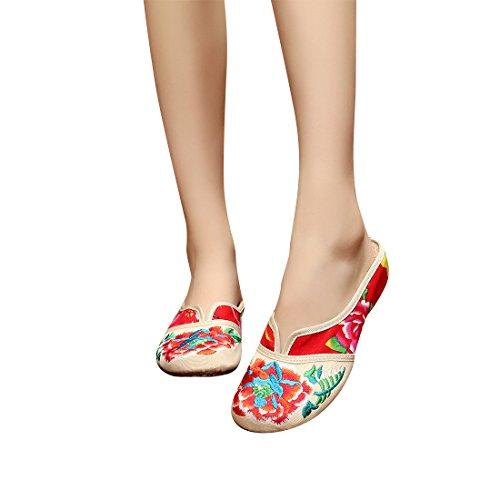 Color leisure dance shoes embroidered sh - Costume Baby Doll Platform Shoes Shopping Results