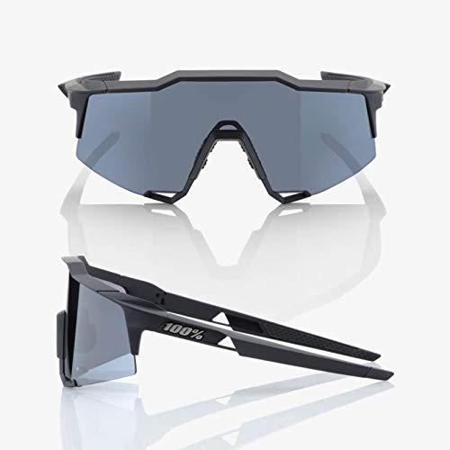 100/% Speedcraft Sunglasses 100/% UV Protection Black//Gray