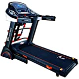 Powermax Fitness TDA-230M 2 HP (4 HP Peak) Motorized Treadmill for Home Use - Free Installation Service - 3 Years Motor…