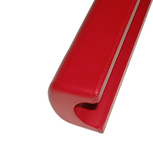 RED Racing Gear sfi45.1 2''-2.25'' Helmet Roll Bar Cage Padding BLEM molded rubber USA