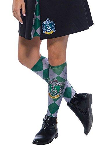 Rubie's Adult Harry Potter Socks, Slytherin