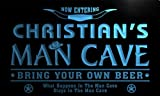 ADV PRO pb235-b Christian's Man Cave Cowboys Bar Neon Light Sign