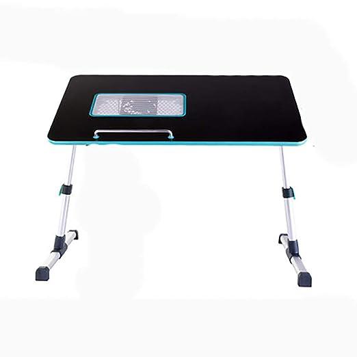 Jian E-& Mesa plegable Cama pequeña Mesa plegable Ordenador de ...