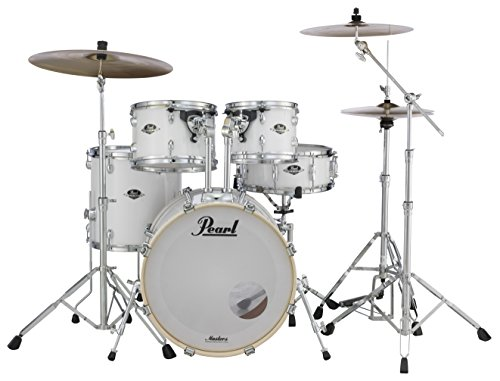 Pearl Export 5-pc. Drum Set w/830-Series Hardware Pack, PURE WHITE, inch (EXX705N/C33) ()