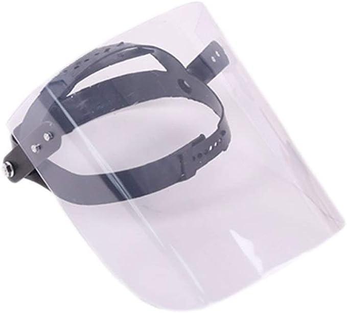 Sweat à capuche visage bouclier en plastique transparent