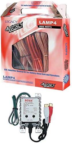 Legacy LAMP4 Amplifier Wiring Kit 4Gauge Legacy