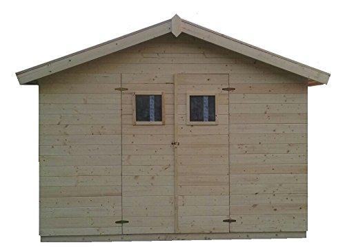 Gartenhaus Mit Fußboden 3x3m ~ Cadema gartenhaus madrid 19mm aus holz inkl. fußboden 3 3m x 3 3m