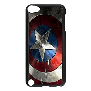 Marvel Comic Captain America Ipod Touch 5th Hard Case Back Cover