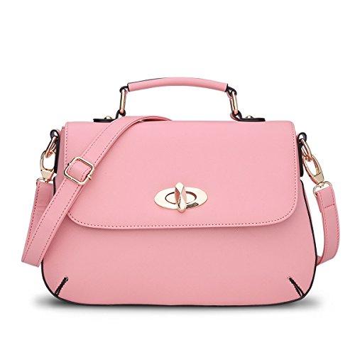 Valin - Shoulder Bag Plastic Womens Pink One Size
