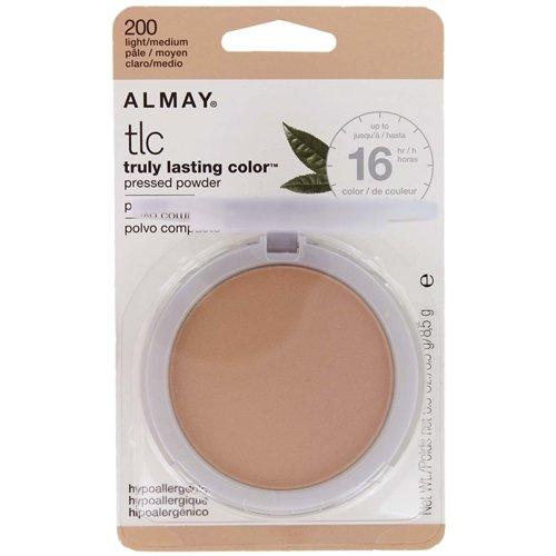 Almay Truly Lasting Color Pressed Powder, Light/Medium 200