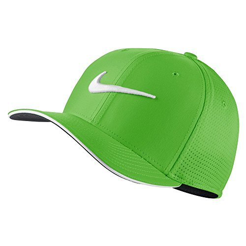 b4963ee9e NIKE Classic 99 Mesh Golf Cap 2017 Green Spark/White/Anthracite Medium/Large