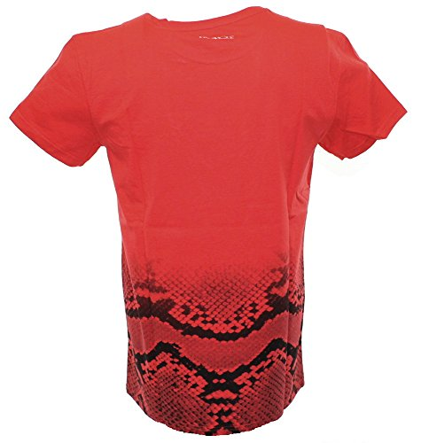 Two Angle T-Shirt Ysnake Red-L