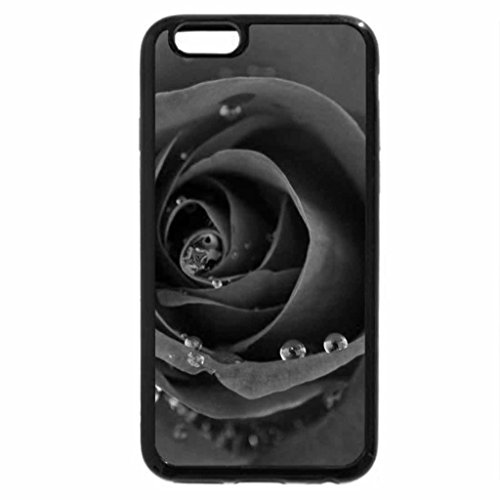 iPhone 6S Case, iPhone 6 Case (Black & White) - When roses cry