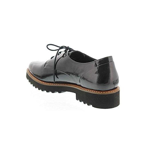 Gris cordones de mujer para Zapatos Mephisto 8HAqXX