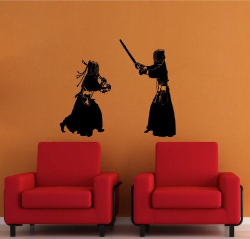 Laced Sword - Kendo Huge Wall Decal