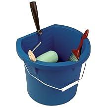 United Solutions PN0003 Three Gallon Blue Plastic Paint Pail - 3 Gallon Plastic Paint Bucket in Blue