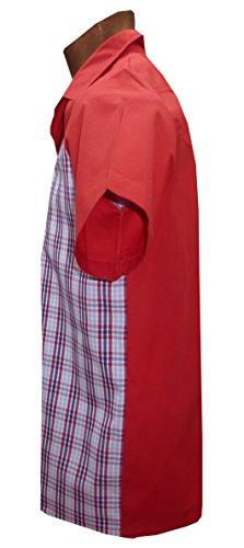 1950s / Sechzigerjahre, westlicher Stil, Rockabilly,, Retro, Vintages Hemd der Männer