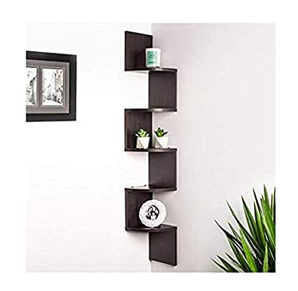 Home Decor Stuff Zig Zag Corner Wall Shelves For Home Decor Amazon In Electronics