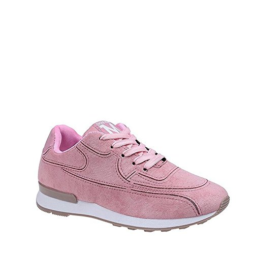Rosegal Mode Gym Femme Sneakers Athlétique Chaussure Basket Course Air Rose Fitness Basses 6H6EwrqF