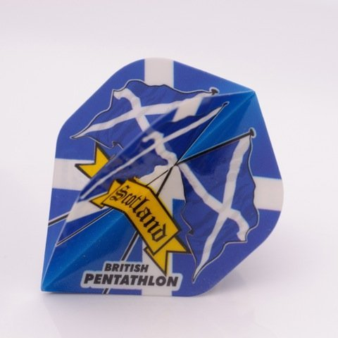 3 x SETS PENTATHLON Darts Flights Schottland Standard