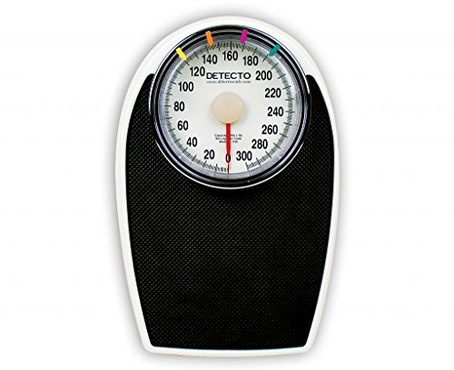 Detecto D1130 Mechanical Home Bathroom Weighing Scale by Detecto