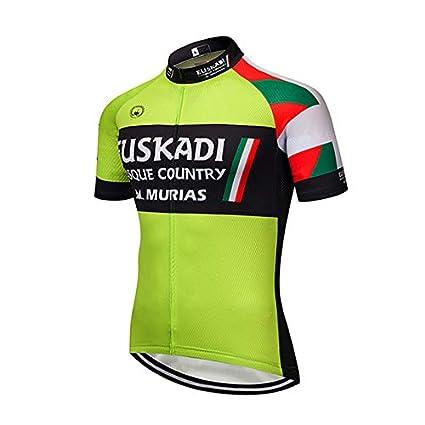 SUHINFE Ropa Traje Ciclismo Hombre Verano Maillot Ciclismo ...