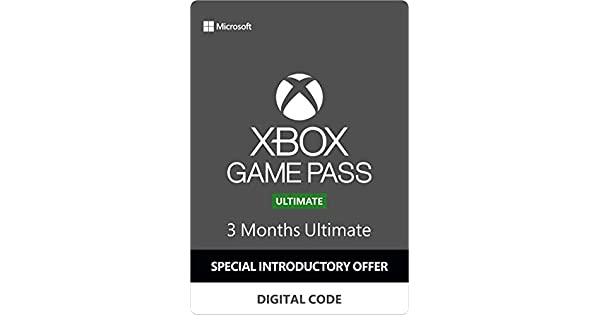 Amazon.com: Xbox Game Pass Ultimate – 3 Months [Digital Code ...